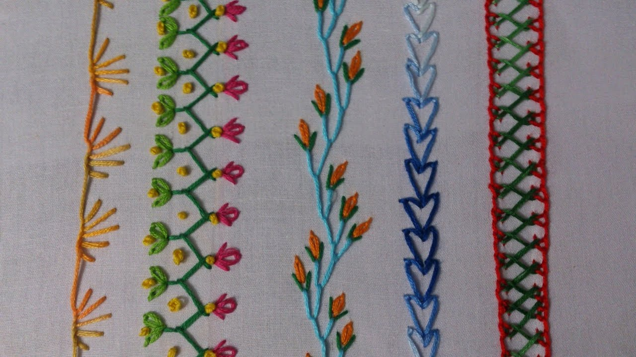 Embrodery Stitching