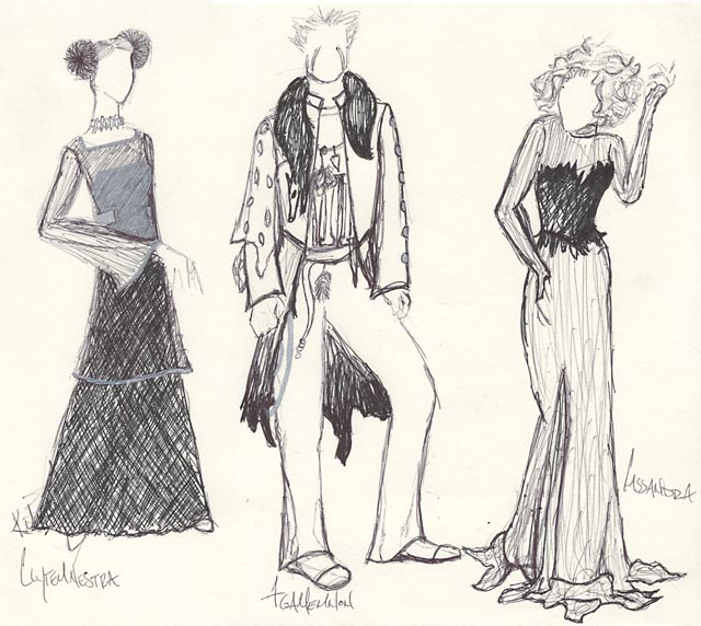 Sketching in Fashion Designing